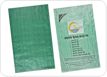 Green PP woven bags