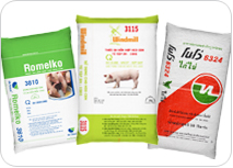 Cattle food bags / veterinary medicine